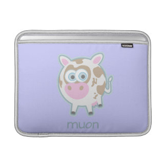 Muon Particle Cow Sleeve For MacBook Air