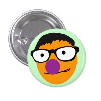 Muppet Tom Button Badge
