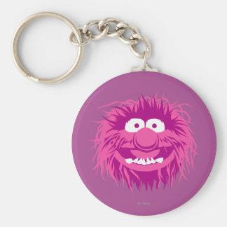 Muppets Animal 2 Basic Round Button Keychain