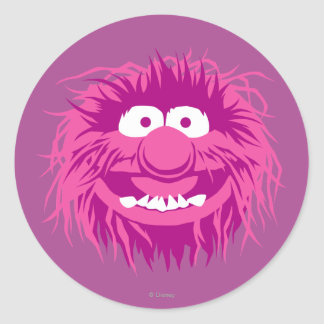 Muppets Animal 2 Classic Round Sticker