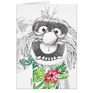 Muppets | Animal In A Hawaiian Shirt Card