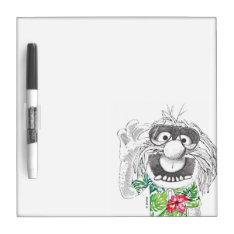 Muppets   Animal In A Hawaiian Shirt Dry Erase Board at Zazzle