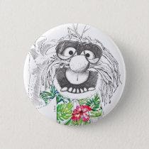 Muppets | Animal In A Hawaiian Shirt Pinback Button