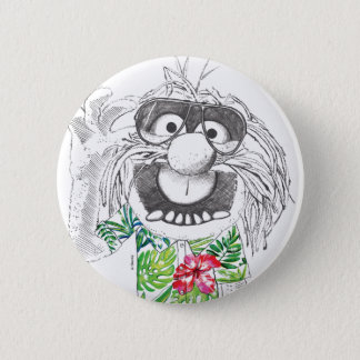 Muppets | Animal In A Hawaiian Shirt Pinback Button