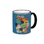 Muppets Circle Graphic Ringer Coffee Mug