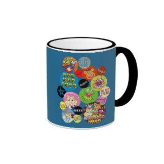Muppets Circle Graphic Ringer Mug