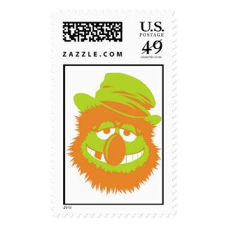 Muppets Dr. Teeth missing teeth hat hobo bum Postage Stamp