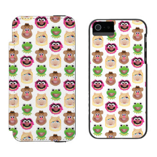 Muppets Emoji iPhone SE/5/5s Wallet Case