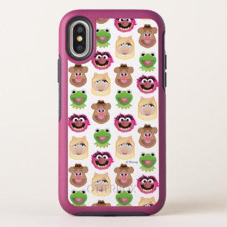 Muppets Emoji OtterBox Symmetry iPhone X Case