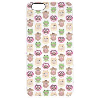 Muppets - Emoji Pattern Clear iPhone 6 Plus Case