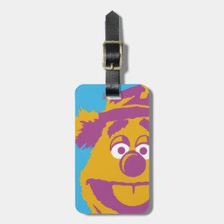 Muppets Fozzie Bear Disney Luggage Tag