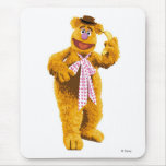 Muppets Fozzie Bear standing holding banana Disney Mouse Pad
