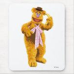 Muppets Fozzie Bear standing holding banana Disney Mousepads