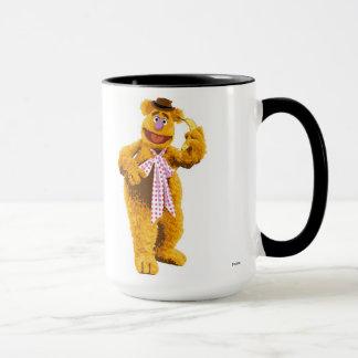 Muppets Fozzie Bear standing holding banana Disney Mug