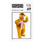 Muppets Fozzie Bear standing holding banana Disney Stamp