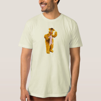 Muppets Fozzie Bear standing holding banana Disney T-shirt