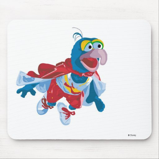 Muppets Gonzo flying Disney Mouse Pads