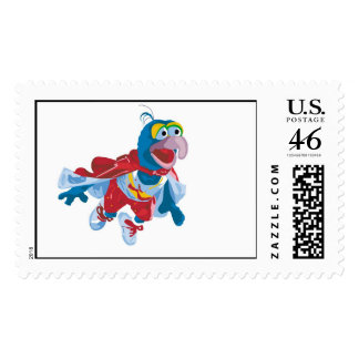 Muppets Gonzo flying Disney Postage Stamp