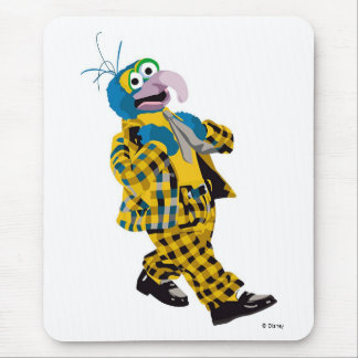 Muppets' Gonzo Plaid Suit Disney Mouse Pad