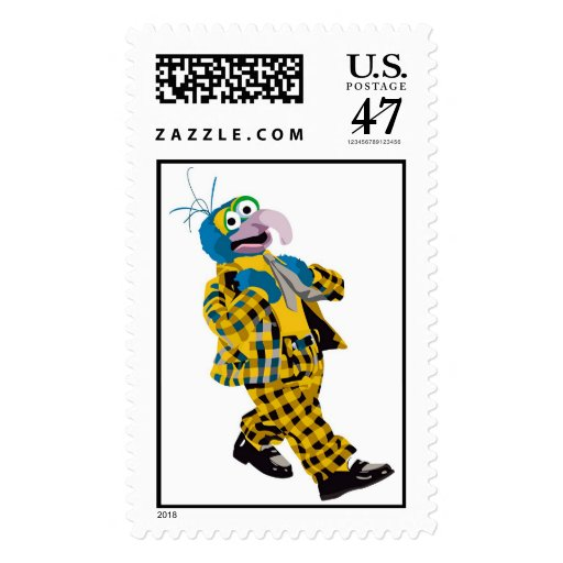 Muppets' Gonzo Plaid Suit Disney Stamp