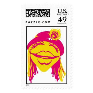 Muppets Janice Disney sonriente Sello