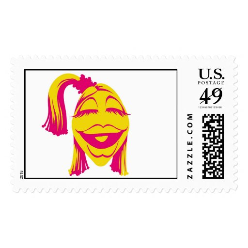 Muppet's Janice Smiling Disney Postage