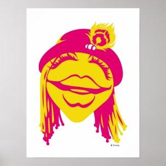 Muppets Janice Smiling Disney print