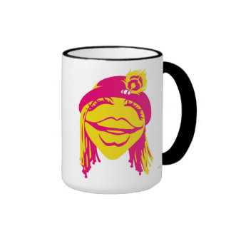 Muppets Janice Smiling Disney Ringer Coffee Mug