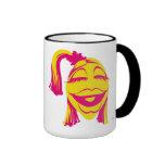 Muppet's Janice Smiling Disney Ringer Coffee Mug