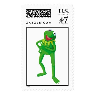 Muppets Kermit Disney Postage Stamp