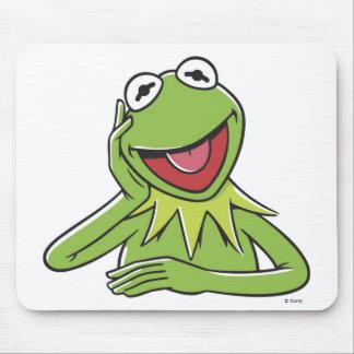 Muppets Kermit Disney sonriente Alfombrilla De Raton