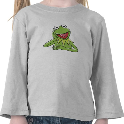 Muppets Kermit Disney sonriente Camiseta