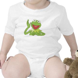 Muppets Kermit Disney sonriente que agita Traje De Bebé