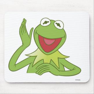 Muppets Kermit Disney sonriente que agita Tapete De Raton