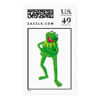 Muppets Kermit Disney Stamp