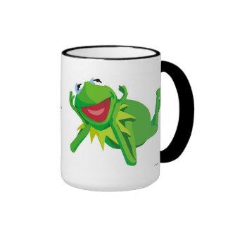 Muppets Kermit Lying Disney Ringer Mug