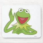 Muppets Kermit waving smiling Disney Mouse Pad