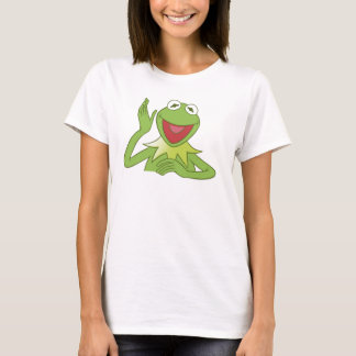 Muppets Kermit waving smiling Disney T-Shirt