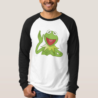Muppets Kermit waving smiling Disney T-shirt