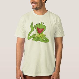 Muppets Kermit waving smiling Disney T Shirt