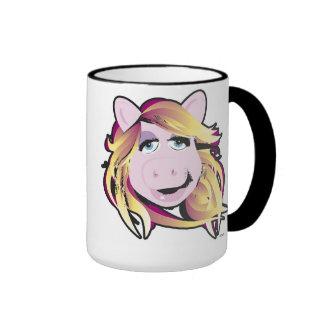Muppets Miss Piggy Disney Ringer Mug