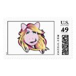 Muppets Miss Piggy Disney Stamp