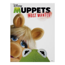 Muppets Most Wanted Kermit & Miss Piggy Poster