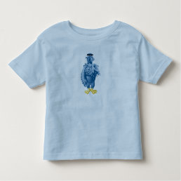 Muppets Sam the Eagle standing pledging Disney Toddler T-shirt