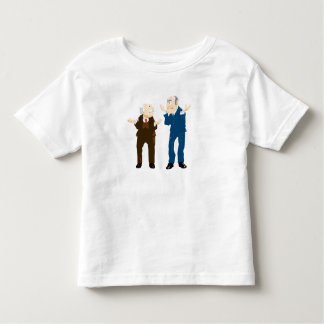 Muppets Sattler And Waldorf looking at each other Toddler T-shirt