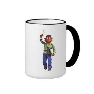 Muppets' Scooter Disney Ringer Coffee Mug