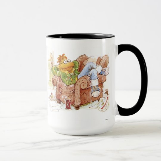 Muppets' Scooter In Chair Disney Mug