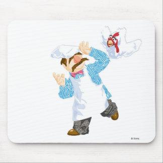 Muppets' Swedish Chef Chicken Mousepads