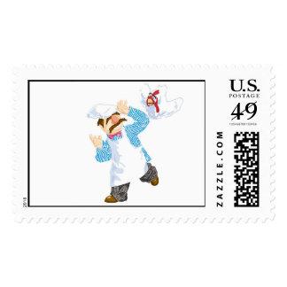 Muppets' Swedish Chef Chicken Stamp