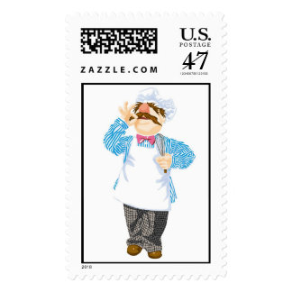 Muppets' Swedish Chef Disney Postage
